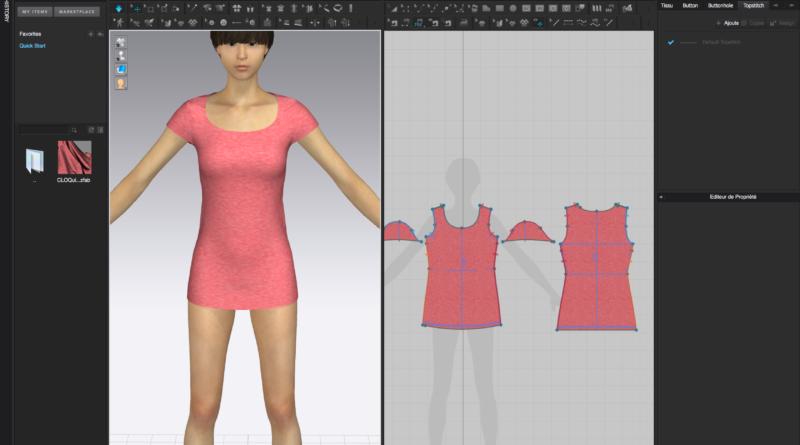Clo3D : 3D CAD Fashion